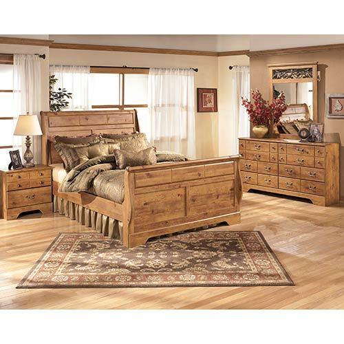 Signature Design by Ashley Bittersweet 6-Piece Queen Sleigh Bedroom Set