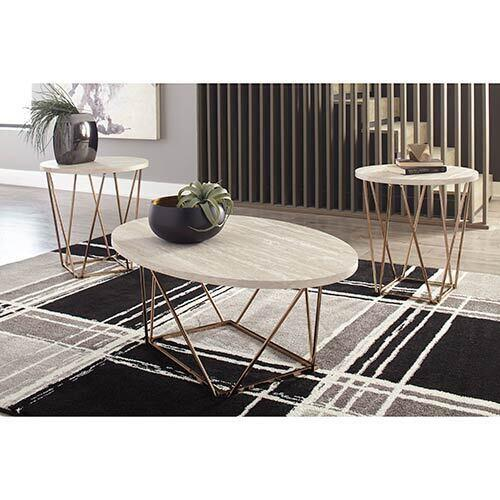 Signature Design by Ashley Tarica Coffee Table Set display image