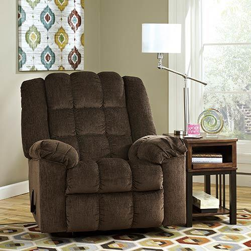 """Signature Design by Ashley """"Ludden"""" Rocker Recliner display image"""