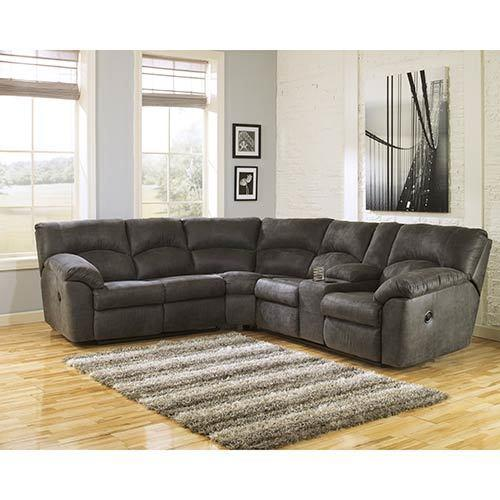 Signature Design by Ashley Tambo-Pewter 2-Piece Sectional display image