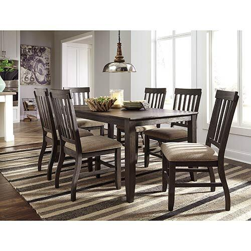 "Signature Design by Ashley ""Dresbar"" 7-Piece Dining Set"