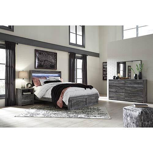 Signature Design by Ashley Baystorm 7-Piece King Bedroom Set
