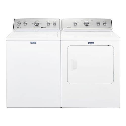 Maytag 3.8 Cu. Ft. Washer and 7.0 Cu. Ft. Gas Dryer display image