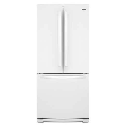 whirlpool-white-20-cu-ft-french-door-bottom-mount-refrigerator