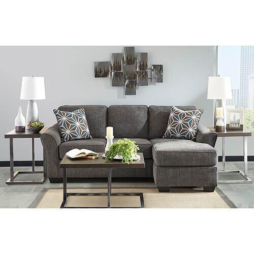 Benchcraft Brise-Slate 6-Piece Living Room Bundle