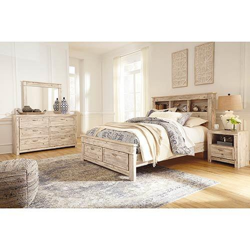 benchcraft-willabry-7-piece-platform-queen-bedroom-set