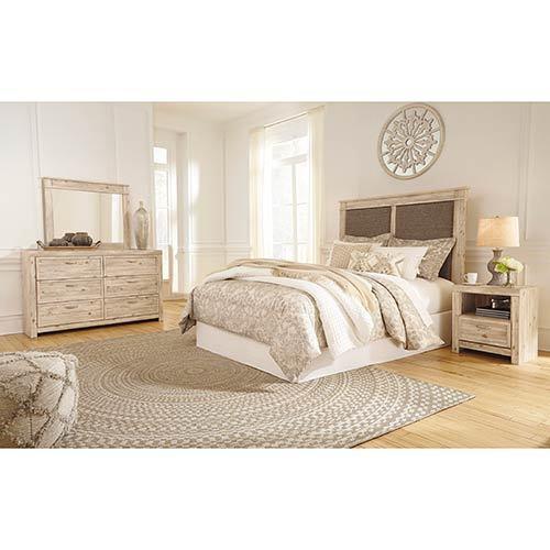 benchcraft-willabry-4-piece-platform-queen-bedroom-set