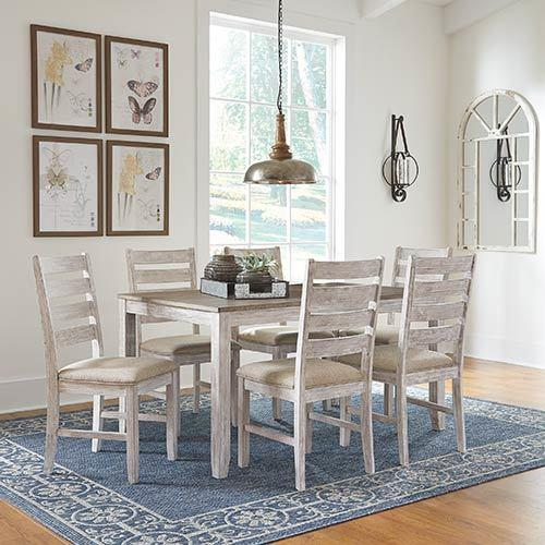 "Signature Design By Ashley ""Skempton"" 7-Piece Dining Set"