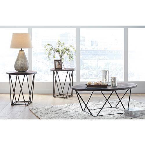 "Signature Design by Ashley ""Neimhurst"" Coffee Table Set  display image"
