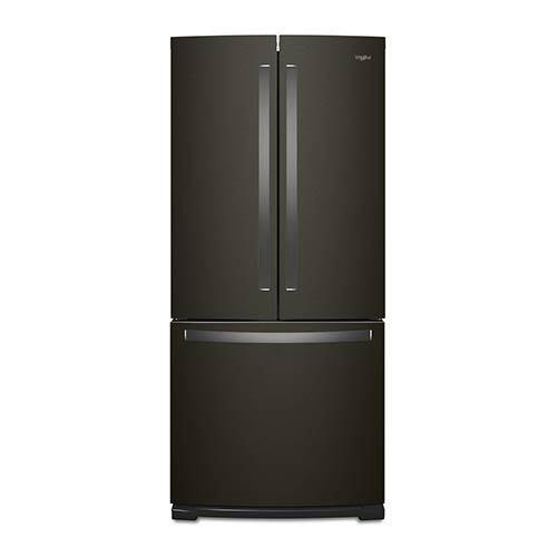Whirlpool Black Stainless 20 Cu. Ft. French Door Refrigerator