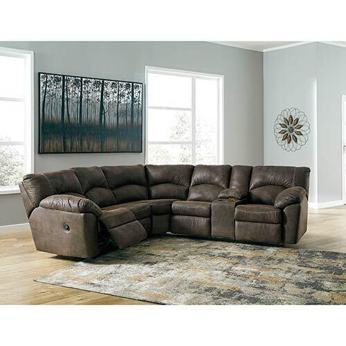 Signature Design by Ashley Tambo-Canyon 2-Piece Reclining Sectional