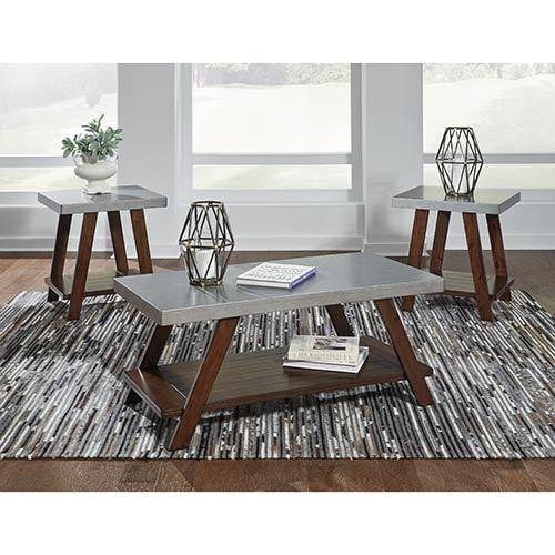 """Signature Design by Ashley """"Bellenteen"""" Coffee Table Set display image"""