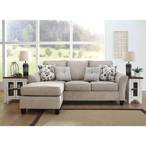 Benchcraft Abney-Driftwood Sofa Chaise