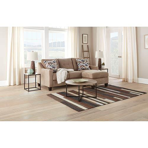 Seabrook Natural 6 Piece Living Room Bundle