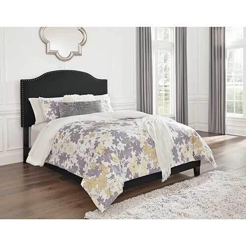 Signature Design by Ashley Adelloni Queen Upholstered Bed - Charcoal