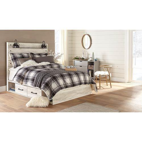 Signature Design by Ashley Cambeck Queen Storage Bed