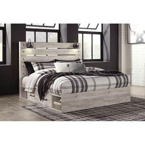 Signature Design by Ashley Cambeck King Storage Bed display image