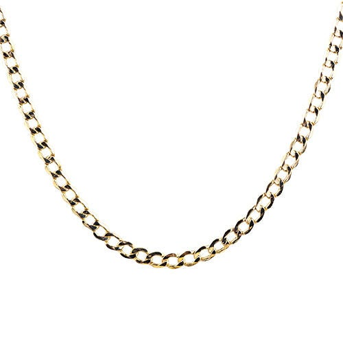 10k-gold-43mm-diamond-cut-24-semi-solid-curb-chain