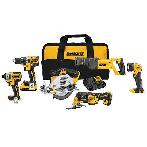 dewalt-20v-max-6-tool-combo-kit-with-case