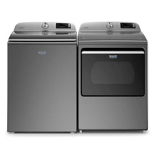 maytag-metallic-slate-47-cu-ft-top-load-washer-and-74-cu-ft-electric-dryer