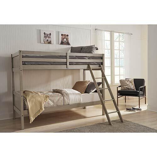 Signature Design by Ashley Lettner Twin over Twin Bunk Bed