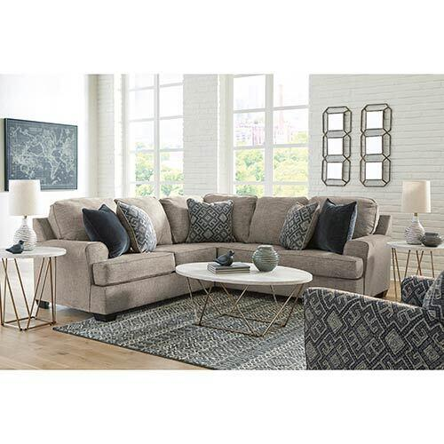 Signature Design by Ashley Bovarian-Stone 2-Piece Sectional and Accent Chair