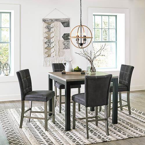 Benchcraft Dontally 5-Piece Counter Height Dining Set