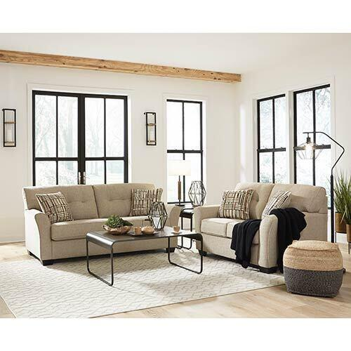 Benchcraft Ardmead-Putty Sofa and Loveseat