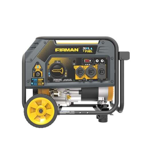 Firman 4550 Watt Dual Fuel Generator