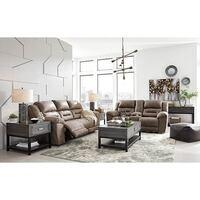 Signature Design by Ashley Stoneland Reclining Sofa and Loveseat