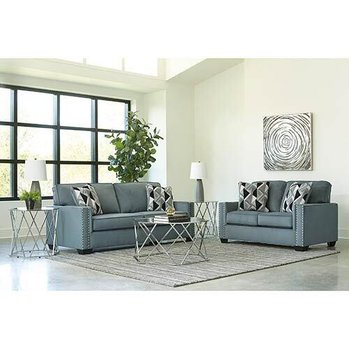 Signature Design by Ashley Gleston-Gray Sofa and Loveseat