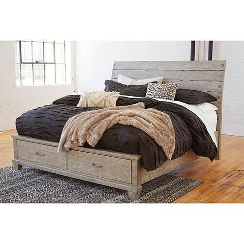 Signature Design by Ashley Naydell Queen Storage Bed