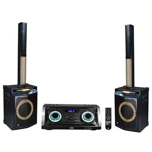 Edison Professional Bluetooth Karaoke Party Sound System