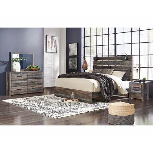 Signature Design by Ashley Drystan 6-Piece King Bedroom Set