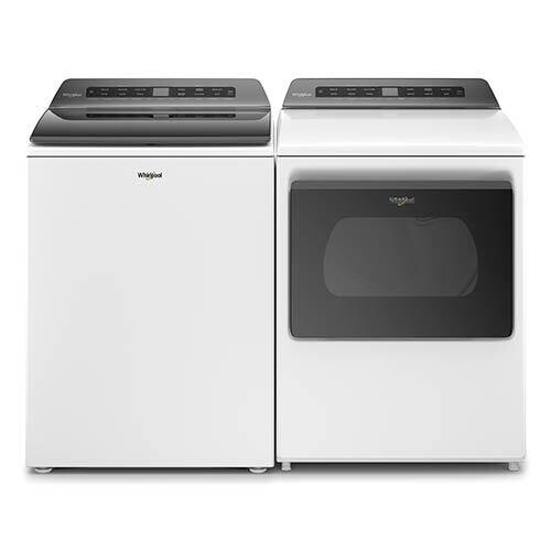 Whirlpool 4.7 Cu. Ft. Top Load Washer and 7.4 Cu. Ft. Electric Dryer