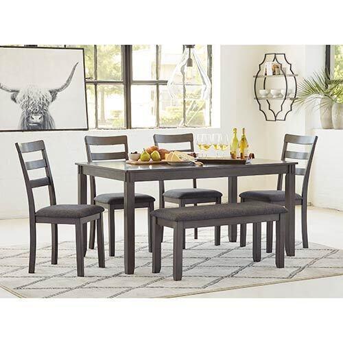 Signature Design by Ashley Bridson 6-Piece Dining Set