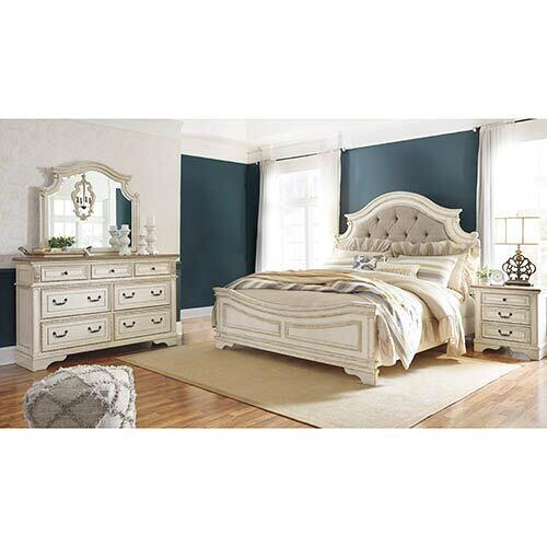 Signature Design by Ashley Realyn 6-Piece King Bedroom Set display image