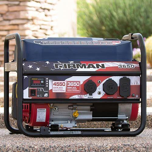 Firman 4500 Watt Stars and Stripes Performance Generator