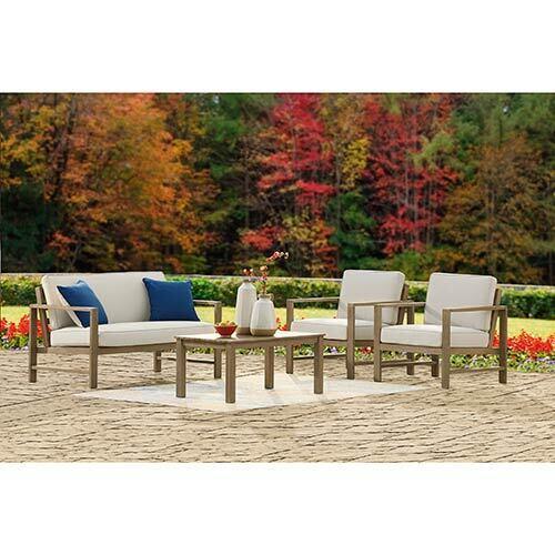 Signature Design by Ashley Fynnegan 4-Piece Outdoor Furniture Set