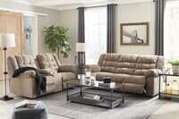 Signature Design by Ashley Workhorse Reclining Sofa and Loveseat