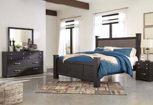 Signature Design by Ashley Reylow 6-Piece King Poster Bedroom Set