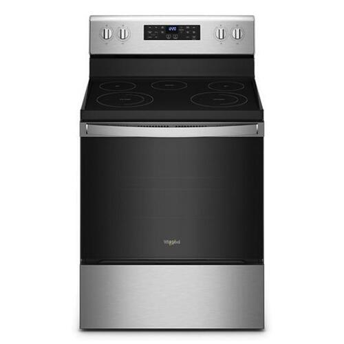 Whirlpool 5.3 Cu. Ft. Whirlpool Electric 5-in-1 Air Fry Oven