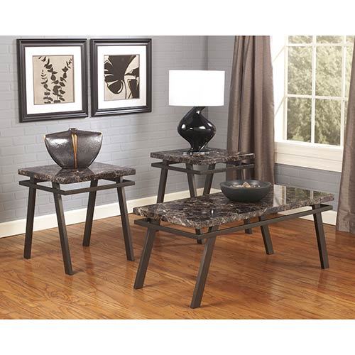 "Signature Design by Ashley ""Paintsville"" Coffee Table Set"