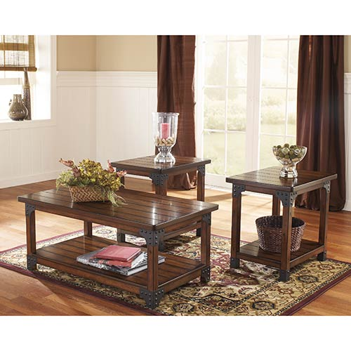 "Signature Design by Ashley ""Murphy"" Coffee Table Set"