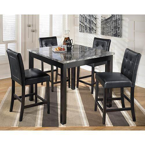 Signature Design by Ashley Maysville 5-Piece Counter Height Dining Set
