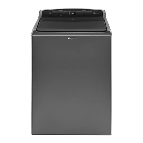 Whirlpool Chrome 4.8 Cu. Ft. Washer with Pre-Wash Faucet