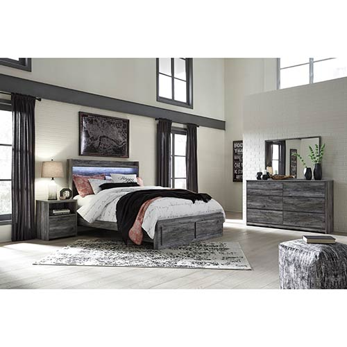 "Signature Design by Ashley ""Baystorm"" 6-Piece Queen Bedroom Set  display image"