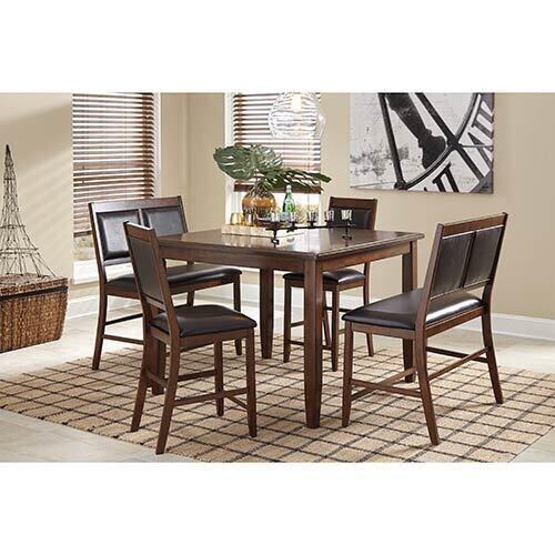 Signature Design by Ashley Meredy 5-Piece Counter Height Dining Set