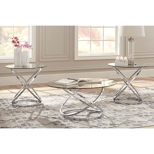 "Signature Design by Ashley ""Hollynyx"" Coffee Table Set"
