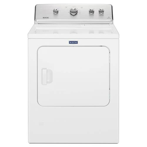 Maytag White 7.0 Cu. Ft. Electric Dryer with IntelliDry® Sensor